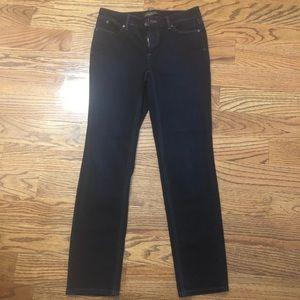 Talbots flawless five-pocket petites straight jean